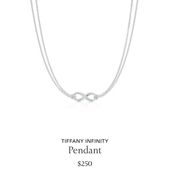 af52acaed Tiffany & Co. Jewelry | Tiffany Co Infinity Pendant Necklace | Poshmark